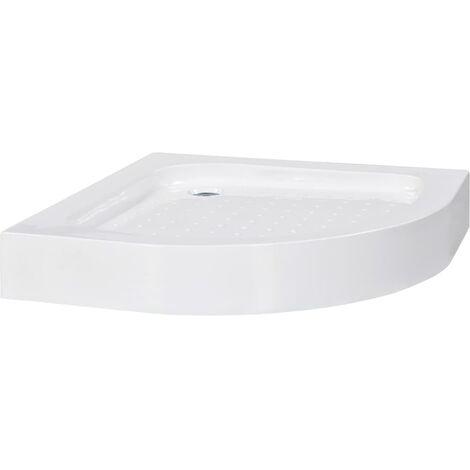 Hommoo Plato de ducha acrílico blanco 70x70x13,5 cm HAXD33037