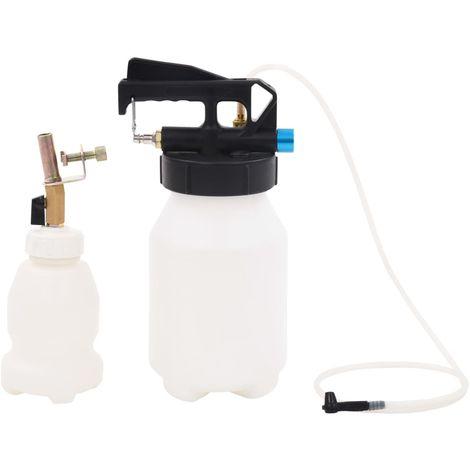 Hommoo Pompe d'extraction à purgeur de frein pneumatique et bouteille