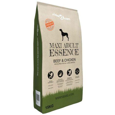 Hommoo Premium Dry Dog Food Maxi Adult Essence Beef & Chicken 15 kg VD07049
