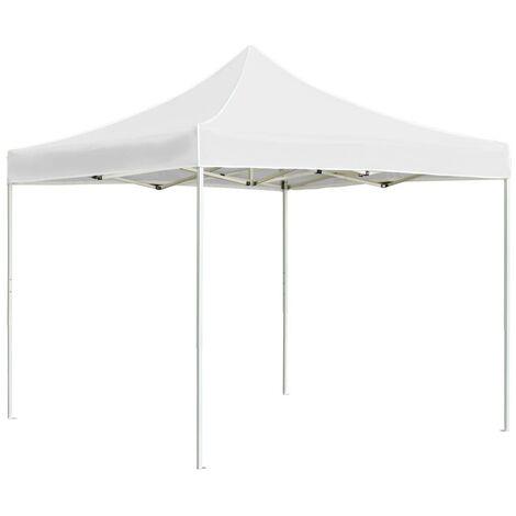 Hommoo Professional Folding Party Tent Aluminium 2x2 m White VD46778