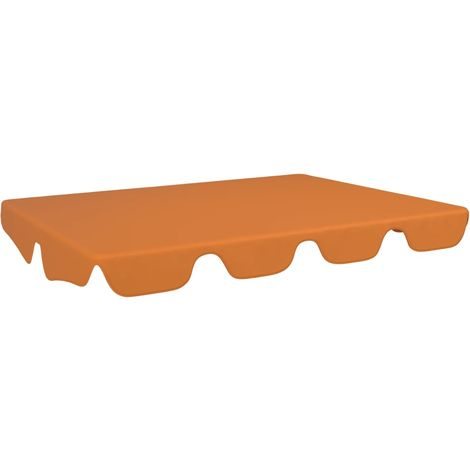 Hommoo Replacement Canopy for Garden Swing Terracotta 192x147 cm