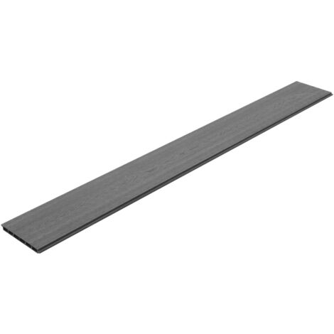 Hommoo Replacement Fence Boards 9 pcs WPC 170 cm Grey QAH29192