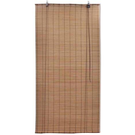 Hommoo Roller Blind Bamboo 100x220 cm Brown QAH11762