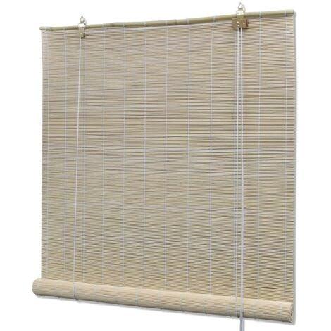 Hommoo Roller Blind Bamboo 80x220 cm Natural VD11765