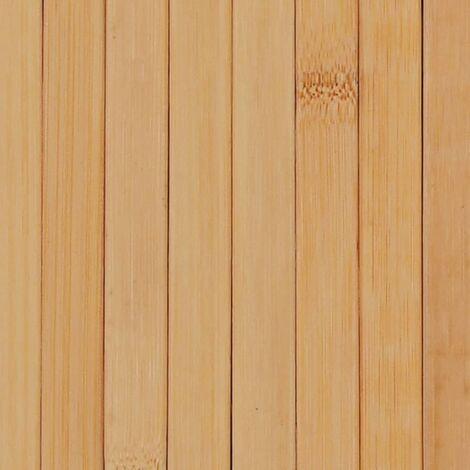 Hommoo Room Divider Bamboo 250x165 cm Natural QAH13111