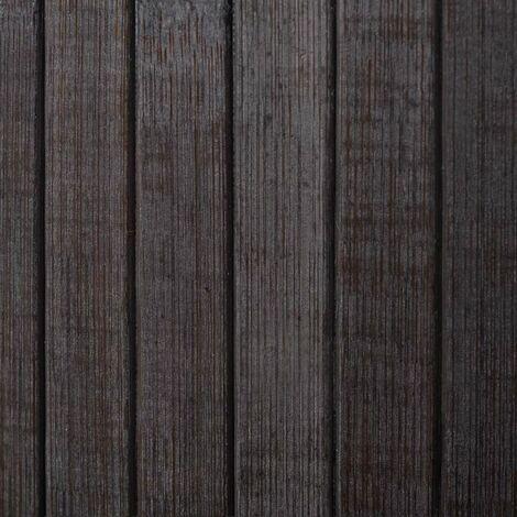 Hommoo Room Divider Bamboo Dark Brown 250x165 cm QAH08902