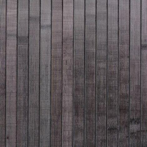 Hommoo Room Divider Bamboo Grey 250x195 cm QAH10696