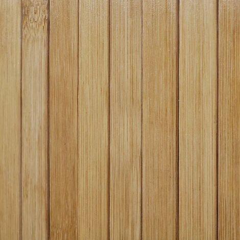 Hommoo Room Divider Bamboo Natural 250x165 cm QAH08901