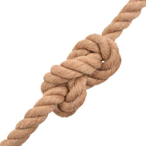 Hommoo Rope 100% Jute 12 mm 100 m QAH32363