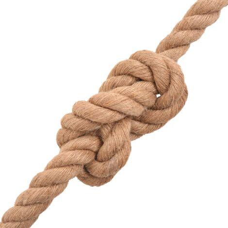 Hommoo Rope 100% Jute 20 mm 50 m QAH32365