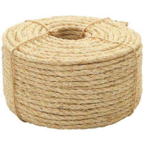 Hommoo Rope 100% Sisal 8 mm 100 m