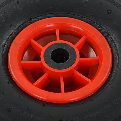 Hommoo Sack Truck Wheels 2 pcs Rubber 3.00-4 (260x85) QAH04982