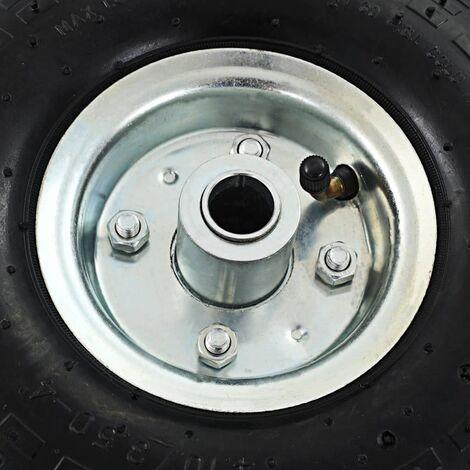Hommoo Sack Truck Wheels 2 pcs Rubber 4.10/3.50-4 (260x83) QAH04988
