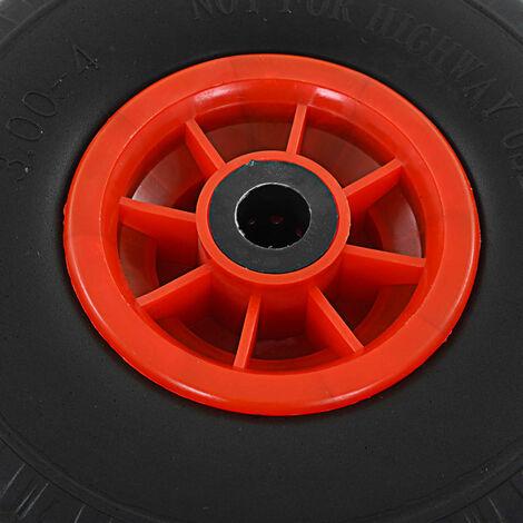 Hommoo Sack Truck Wheels 2 pcs Solid PU 3.00-4 (260x85) QAH04984