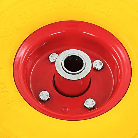 Hommoo Sack Truck Wheels 4 pcs Rubber 3.00-4 (260x85) QAH04987