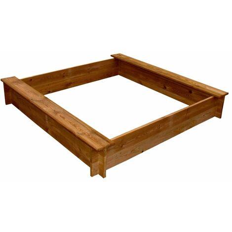 Hommoo Sandpit Wood Square QAH26624