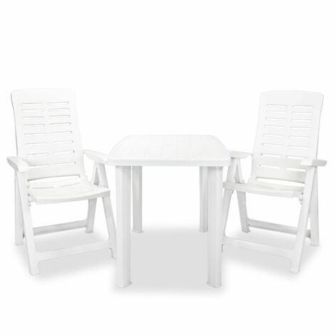 ofertas parasoles jardin y sillas blancas