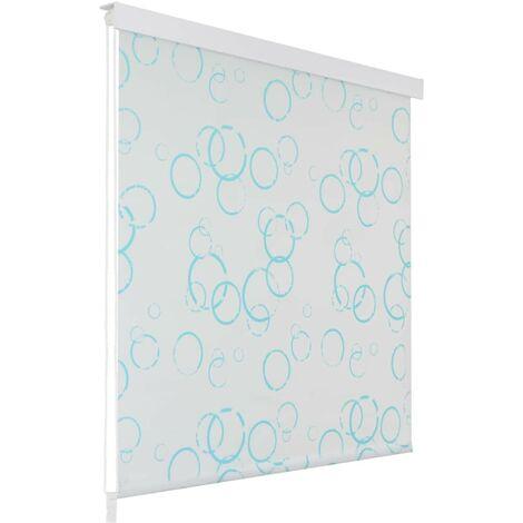 Hommoo Shower Roller Blind 160x240 cm Bubble VD04899