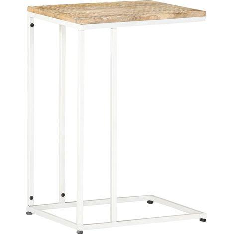 Hommoo Side Table 35x45x65 cm Solid Mango Wood
