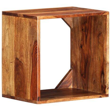Hommoo Side Table 40x30x40 cm Solid Sheesham Wood