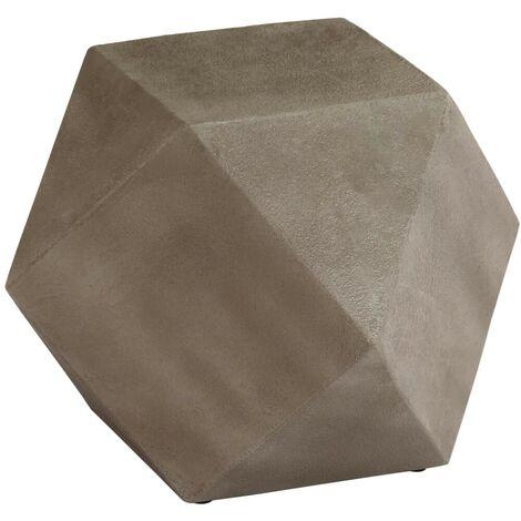 Hommoo Side Table Concrete 40x40x40 cm