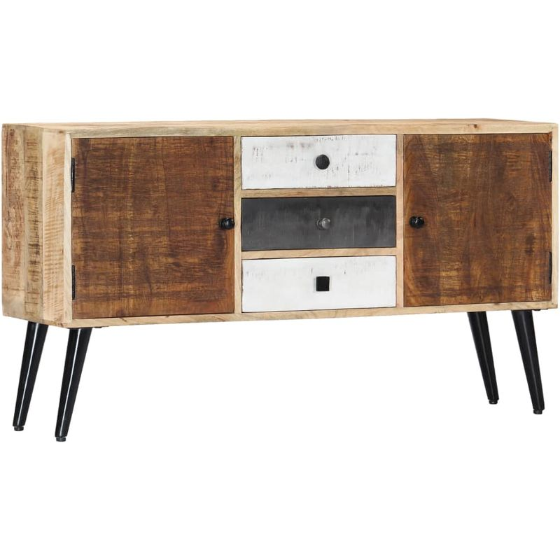 Sideboard 118x30x62 cm Massivholz Mango VD23943 - Hommoo