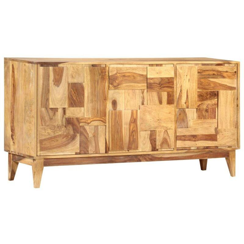 Hommoo Sideboard 145x40x76 cm Massivholz Palisander VD48373