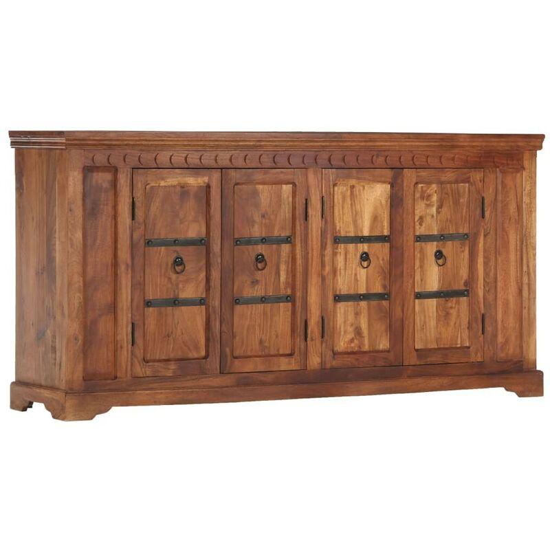 Hommoo Sideboard 170 x 40 x 85 cm Akazie Massivholz VD13854