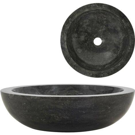 Hommoo Sink 40x12 cm Marble Black