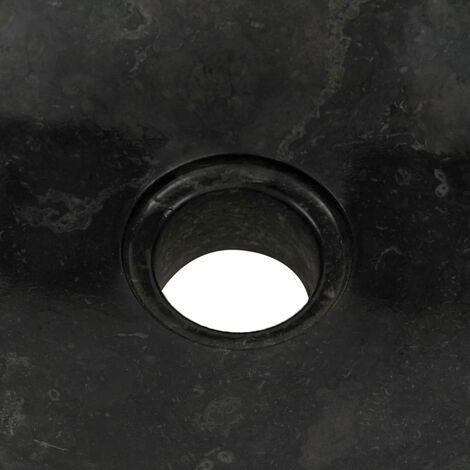 Hommoo Sink 40x12 cm Marble Black QAH04815