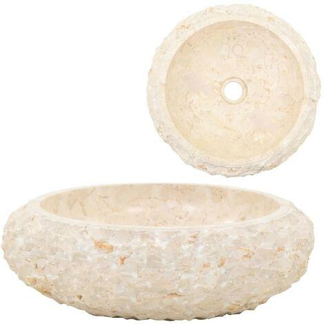 Hommoo Sink 40x12 cm Marble Cream VD04816