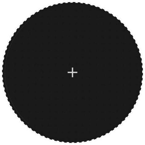 Hommoo Sprungtuch Schwarz für 4,57 m/15 Fuß Runde Trampoline VD47690
