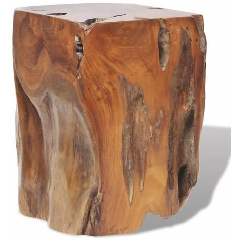 Hommoo Stool Solid Teak Wood VD09825
