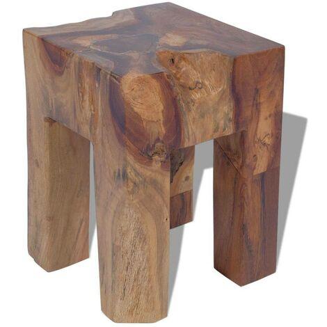 Hommoo Stool Solid Teak Wood VD09827