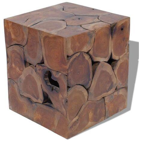 Hommoo Stool Solid Teak Wood VD09828
