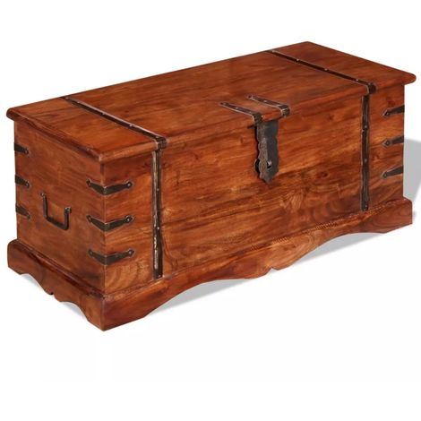 Hommoo Storage Chest Solid Wood