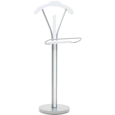 Hommoo Suit Stand 45x35x107 cm White
