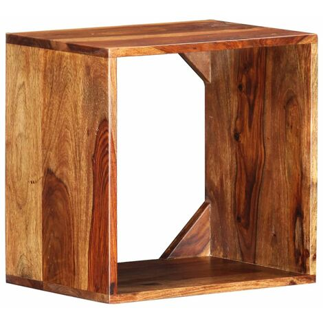 Hommoo Table d'appoint 40x30x40 cm Bois solide HDV36775
