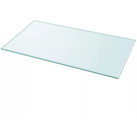 Hommoo Table Top Tempered Glass Rectangular 1200x650 mm VD09949