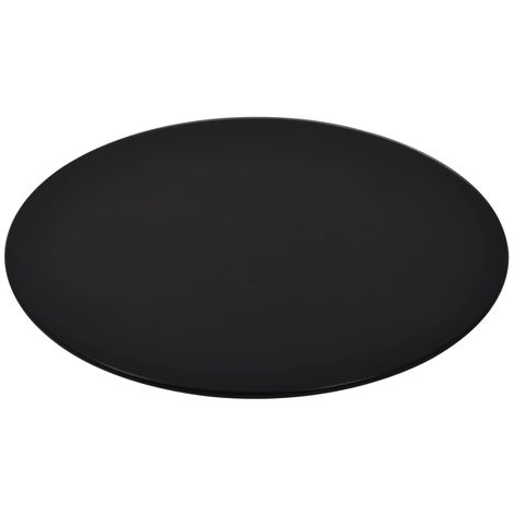 Hommoo Table Top Tempered Glass Round 500 mm