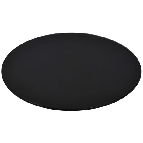 Hommoo Table Top Tempered Glass Round 600 mm