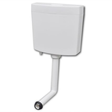 Hommoo Toilet Cistern 3/6 L White VD04374