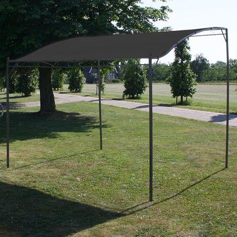 Hommoo Toldo parasol gris antracita 3x2,5 cm