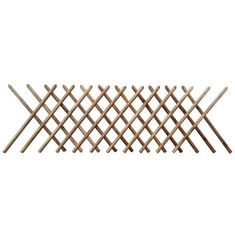 Hommoo Trellis Fence FSC Impregnated Wood 250x100 cm VD26759