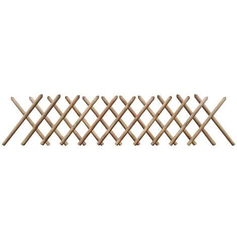 Hommoo Trellis Fence FSC Impregnated Wood 250x60 cm