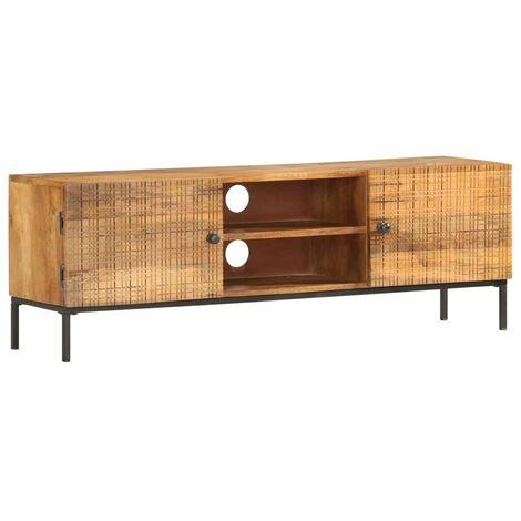 Hommoo TV Cabinet 120x30x40 cm Solid Mango Wood