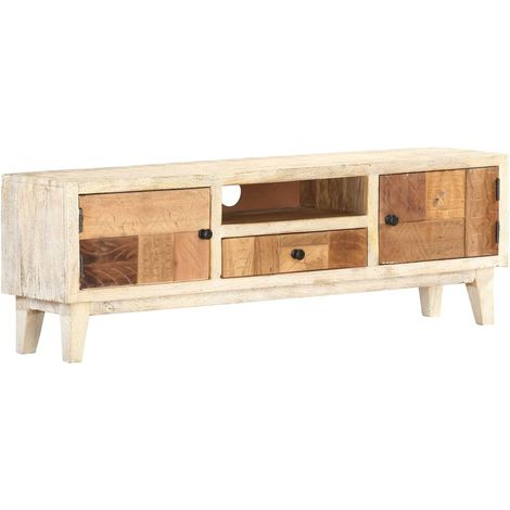 Hommoo TV Cabinet 120x30x40 cm Solid Reclaimed Wood