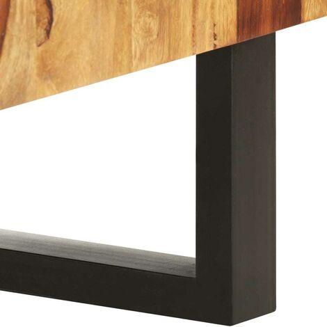 Hommoo TV-Schrank 130 x 30 x 47 cm Massivholz Akazie - VD37323_DE