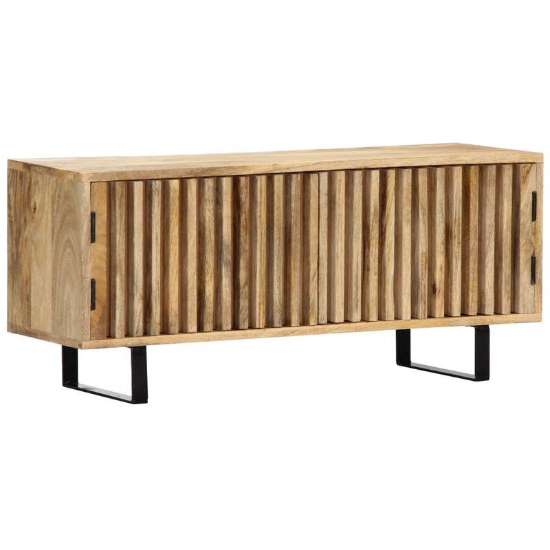 Hommoo TV-Schrank 90 x 30 x 40 cm Mango-Massivholz VD13745