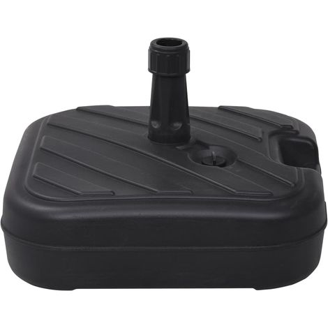 Hommoo Umbrella Base Sand/Water Filled 24 L Black